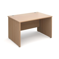 CLOUD BASE PANEL END BEECH DESK 1200MM