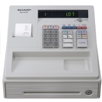 SHARP XE-A107 CASH REGISTER WHITE