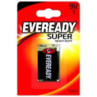 EVEREADY SUPER HEAVYDUTY BATTERY 9V