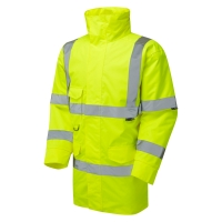HIGH VISIBILITY BASIC ANORAK YELLOW - LARGE