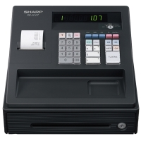 SHARP XEA107BK CASH REGISTER BLACK