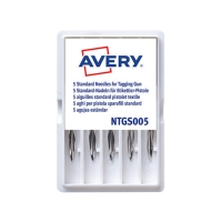 AVERY NEEDLES FOR TAGGING GUN PACK OF 5