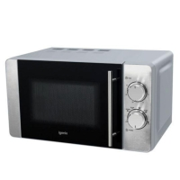IGENIX STAINLESS STEEL 800W MICROWAVE OVEN 20 LITRE CAPACITY