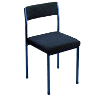 CONTRACT CONFERENCE CHAIR (NO ARM RESTS) - CHARCOAL