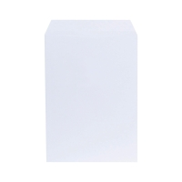 LYRECO WHITE C4 PEEL AND SEAL GUSSET ENVELOPES 140GSM - BOX OF 125