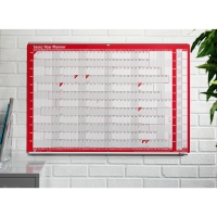 SASCO ALUMINIUM TRACKING FOR 915 X 610MM WALL PLANNERS