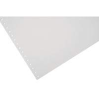 LYRECO 280 X 241MM 1-PART PLAIN MICROPERF LISTING PAPER 60GSM - 2000 SHEETS