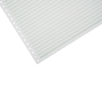 LYRECO 280 X 370MM 1-PART RULED NON PERF LISTING PAPER 70GSM - 2000 SHEETS