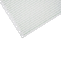 LYRECO 280 X 389MM 1-PART RULED NON PERF LISTING PAPER 60GSM - 2000 SHEETS