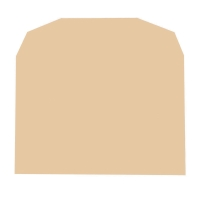 LYRECO MANILLA C6 GUMMED PLAIN ENVELOPES 70GSM - BOX OF 1000