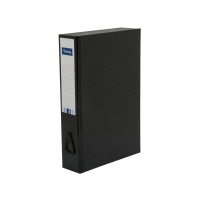 LYRECO BLACK FOOLSCAP BOX FILE