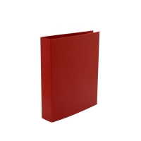 LYRECO RED A4 4D-RING BINDER 50MM CAPACITY