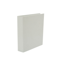 LYRECO WHITE A4 4D-RING BINDER 50MM CAPACITY