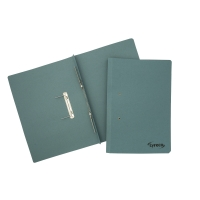 LYRECO BLUE FOOLSCAP SPRING FILES 300GSM 32MM CAPACITY - BOX OF 25