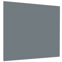 GREY UNFRAMED FELT NOTICE BOARD 1200MM X 900MM