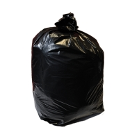 THE GREEN SACK MEDIUM DUTY WHEELIE BIN LINER 1168MM X 1295MM BLACK - BOX OF 100