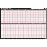 SASCO MOUNTED DAY PLANNER - 915 X 610MM