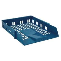CONTRACT A4/FOOLSCAP BLUE LETTER TRAY