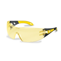 UVEX 9192.788 PHEOS SMALL SAFETY SPECTACLES AMBER LENS