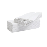 LYRECO WHITE 2 PLY C-FOLD HAND TOWELS - PACK OF 2355