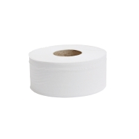 LYRECO 2 PLY 76MMX200M MINI JUMBO TOILET ROLL - PACK OF 12