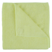 YELLOW MICROFIBRE CLOTHS - PACK OF 10