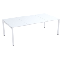 PAPERFLOW EASYDESK WHITE CONFERENCE TABLE 2200MM X 1140MM