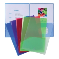 EXACOMPTA PRESENT POCKET A4A3 ASSORTED PACK OF 10
