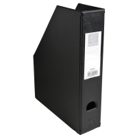 EXACOMPTA 90151E RIGID MAGAZINE FILE 7CM BLACK