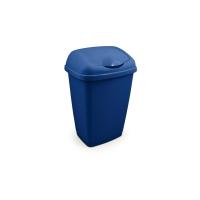 BLUE 50 LITRE FLIP TOP BIN