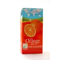 SUNPRIDE PURE 1 LITRE RESEAL ORANGE JUICE - PACK OF 12