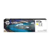 HP 973X High Yield Yellow Original PageWide Cartridge (F6T83AE)
