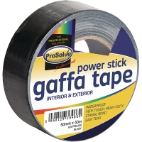 ROLL GAFFA DUCT  CLOTH WATERPROOF TAPE BLACK