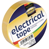 ROLL ELECTRICAL INSULATIONTAPE 19MM 33MTR YELLOW