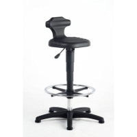 INTERSTUHL BLACK DRAUGHTMANN S SIT STAND CHAIR