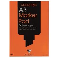 GOLDLINE A3 MARKER PAD 70GSM ACID FREE