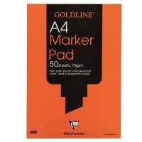 GOLDLINE A4 MARKER PAD 70GSM ACID FREE