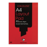 GOLDLINE A4 LAYOUT PAD 50GSM ACID FREE