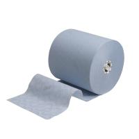 SCOTT MAX AIRFLEX 6692 BLUE 1 PLY HAND TOWEL ROLLS 350M - PACK OF 6