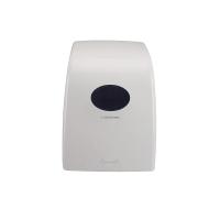 AQUARIUS 6989 WHITE HAND TOWEL ROLL DISPENSER